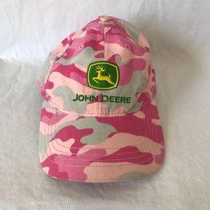 John Deere Pink Camo Hat